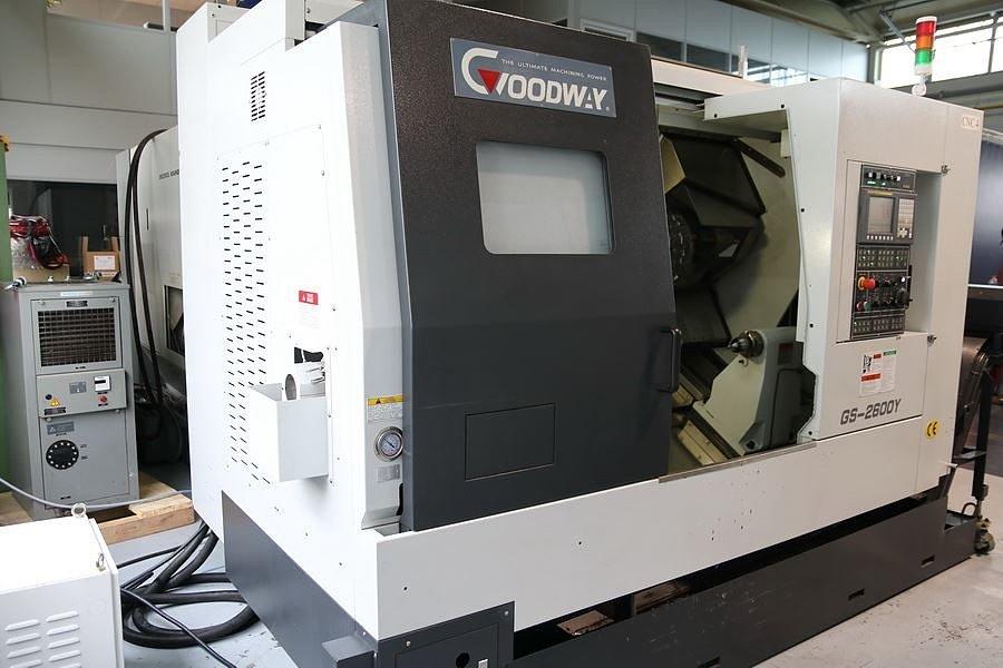 Токарно-фрезерный обрабатывающий центр GOODWAY GLS 200 Y